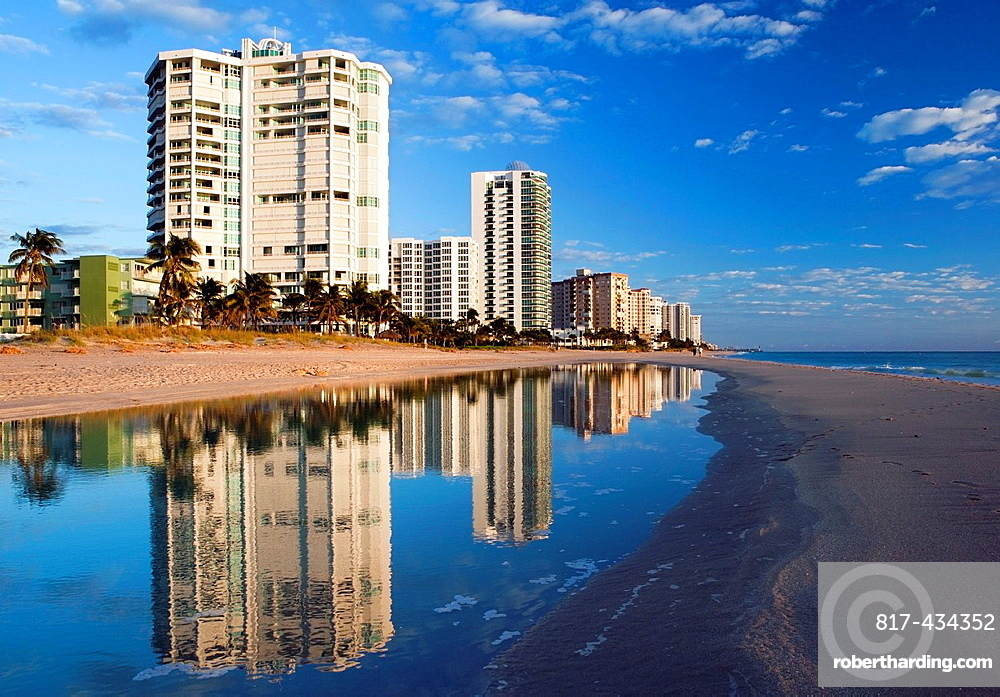 Beach Reflections, Lauderdale-by-the-Sea, Florida USA