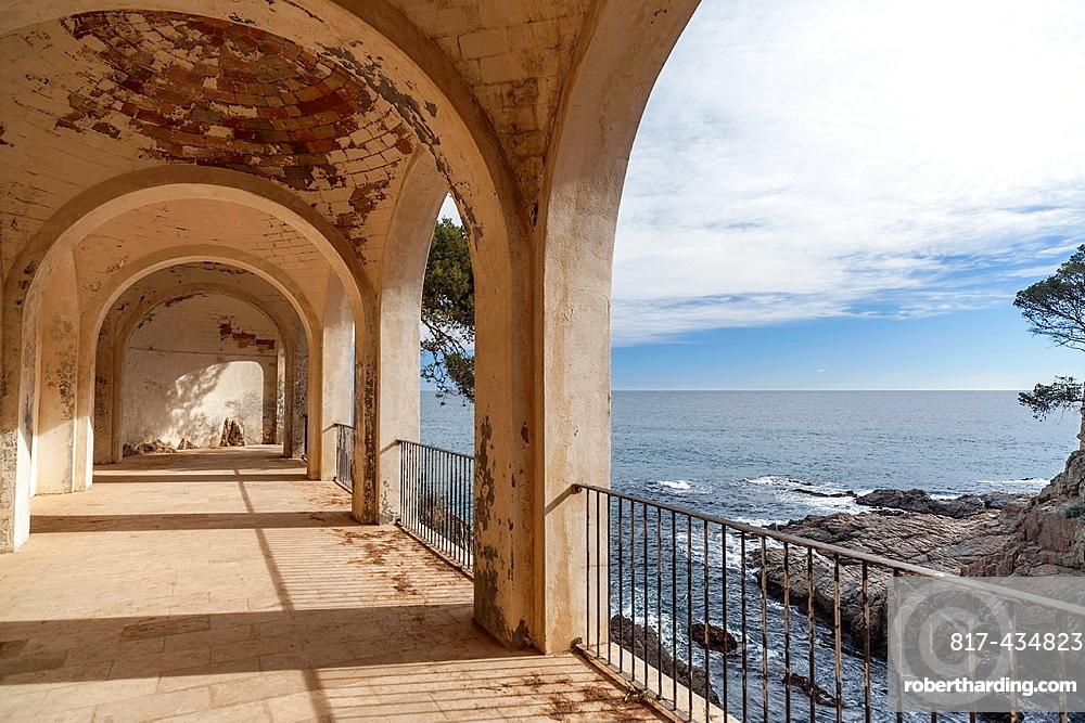 S'Agaro,Costa Brava,Catalonia,Spain Cami De Ronda