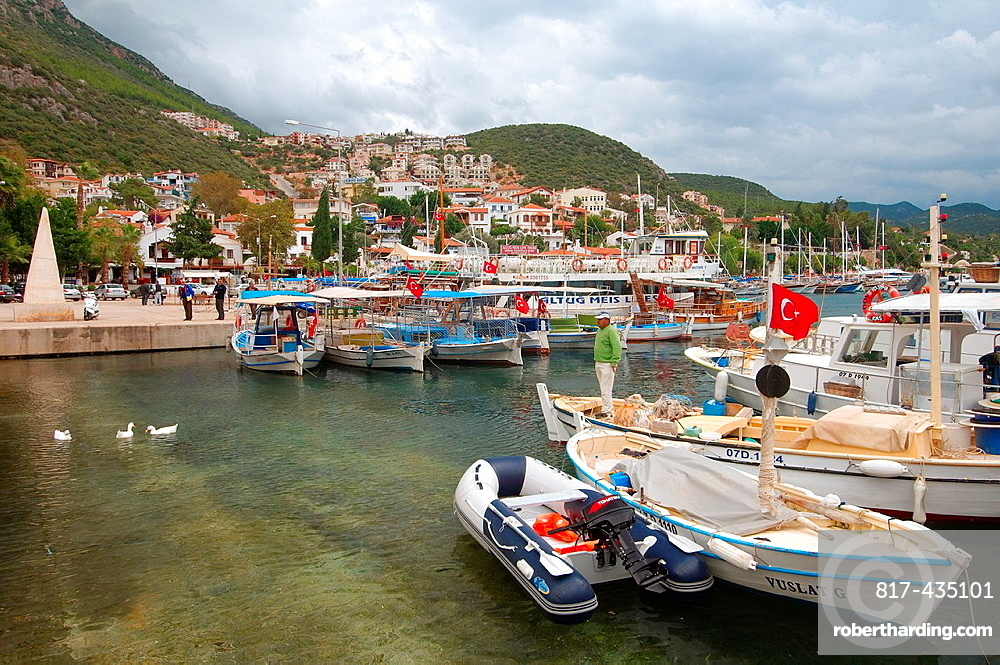 port, Kash, Turkey