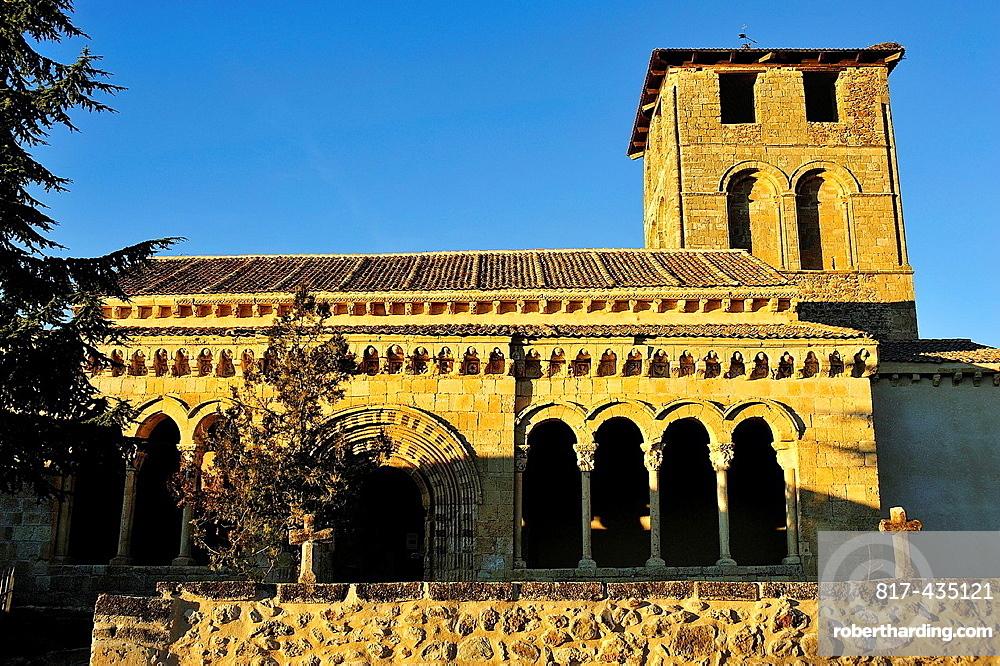 Romanesque church, Sotosalbos, Segovia, Spain