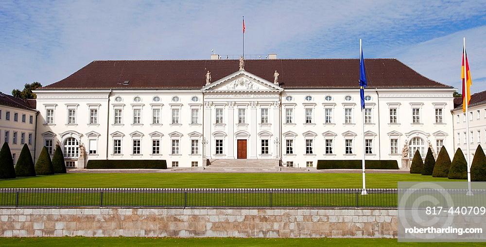 Schloss Bellevue, Bellevue Palace, Berlin, Germany, Europe.