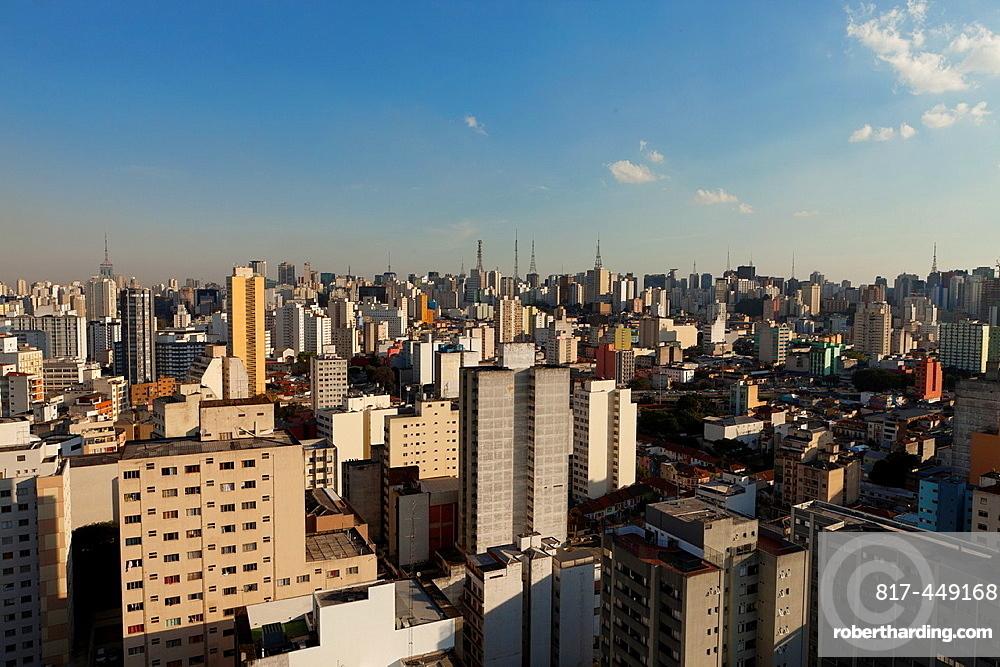 Cityscape, Sao Paulo, Brazil.