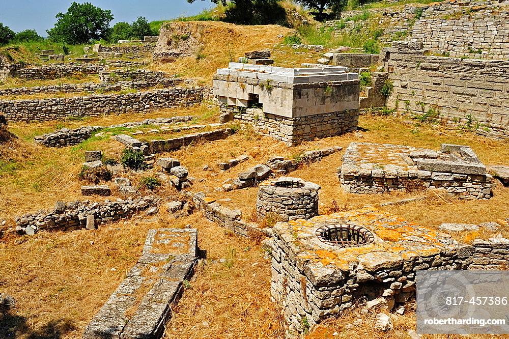 Religious sanctuary from Troy 8, 7th century BC, Troy Historic Site, Biga Peninsula, Turkey