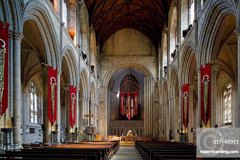 Ripon, cathedral, late 12th century, Early English style, North Yorkshire, UK