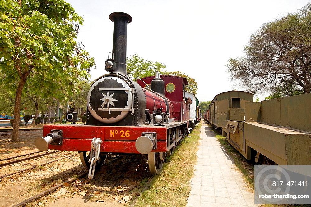 Train museum, Delhi, India.