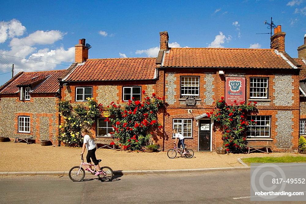 Village Pub Wareham North Norfolk June