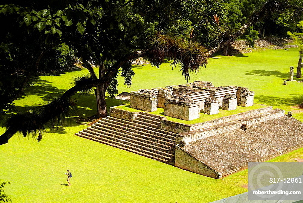 The Mayan ruins at Copan, Honduras, Central America