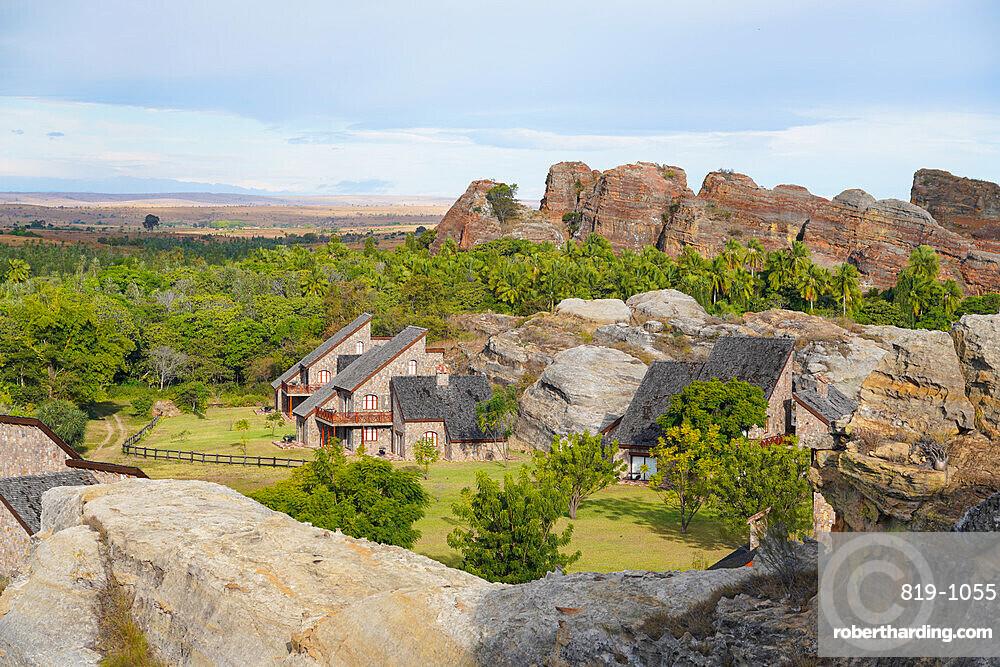 Jardin du Roy Hotel, Isalo National Park, Fianarantsoa province, Ihorombe Region, Southern Madagascar