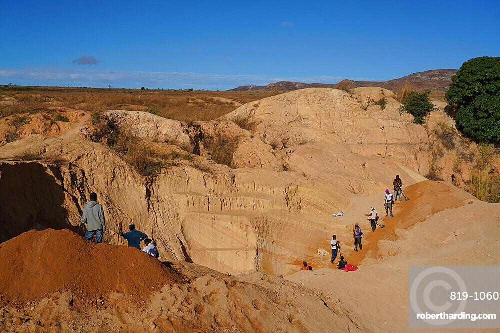 Ilakaka sapphire mines, Ilakaka, Fianarantsoa province, Ihorombe Region, Southern Madagascar