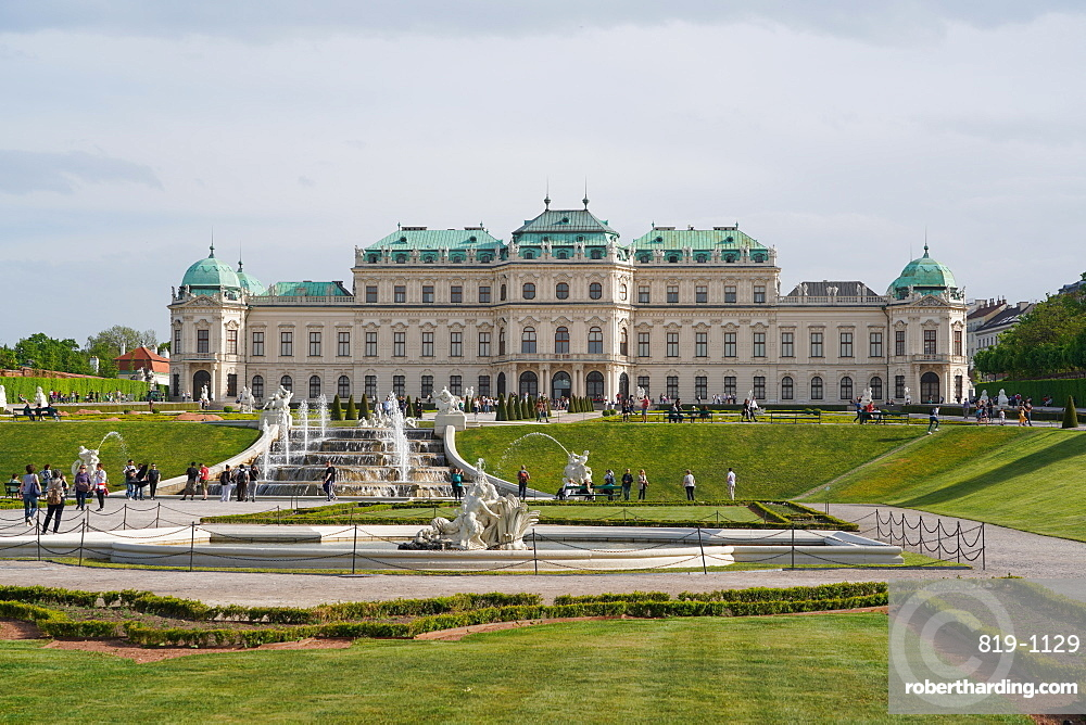 The Upper Belvedere, Vienna, Austria, Europe