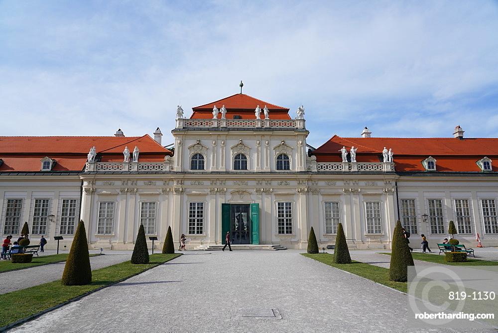 Lower Belvedere, Vienna, Austria, Europe