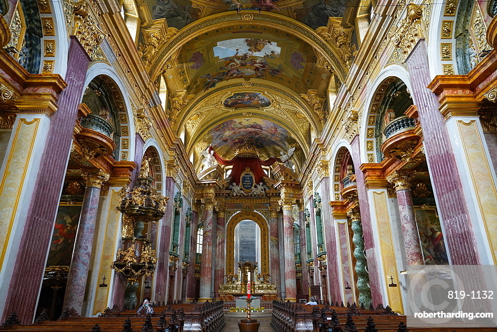 The Jesuit Church (Jesuitenkirche) (University Church), Vienna, Austria, Europe