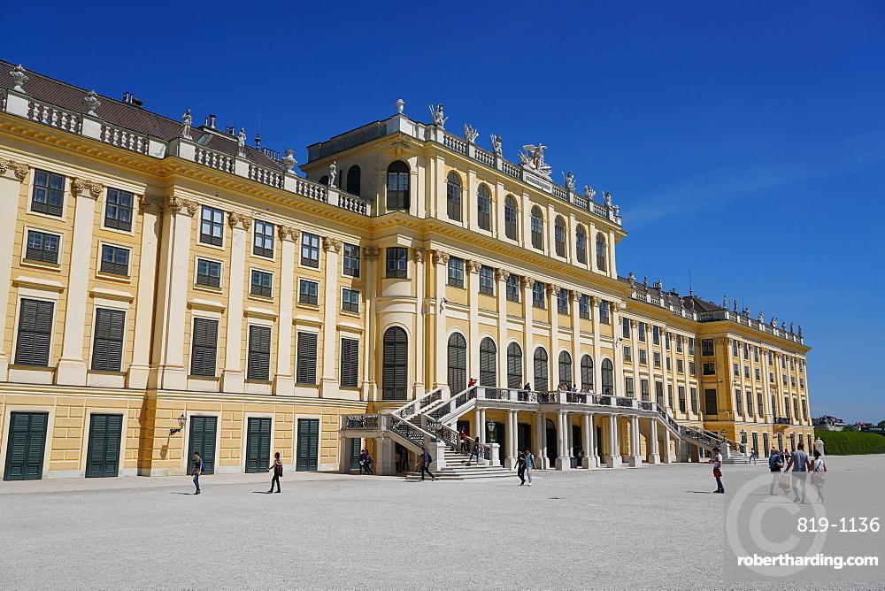 Schonbrunn Palace, UNESCO World Heritage Site, Vienna, Austria, Europe