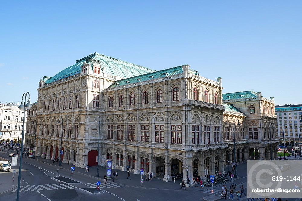 The Vienna State Opera, Wiener Staatsoper, UNESCO World Heritage Site, Vienna, Austria, Europe