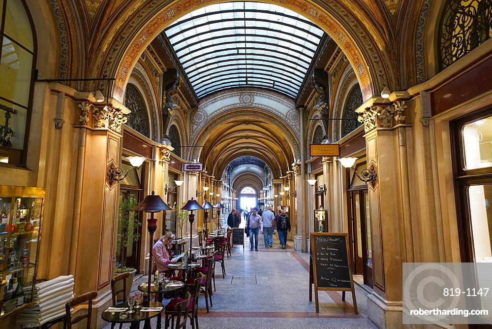 Ferstel Passage (Freyung Passage) shops, Vienna, Austria, Europe