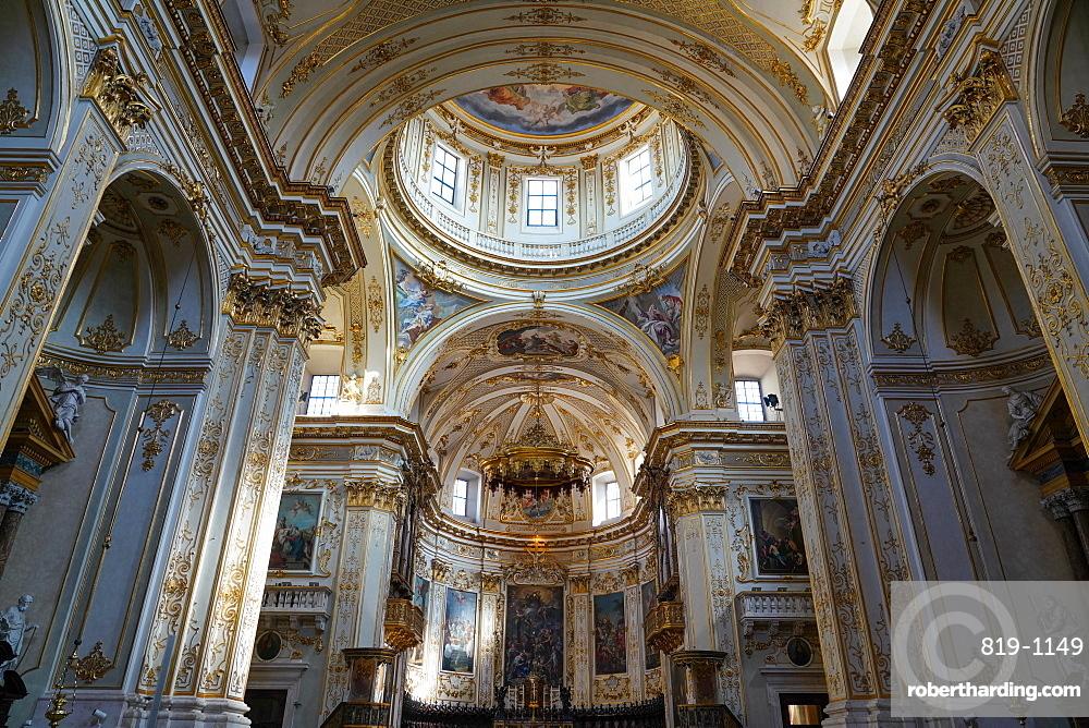 Bergamo Cathedral, dedicated to Saint Alexander, Bergamo, Lombardy, Italy, Europe