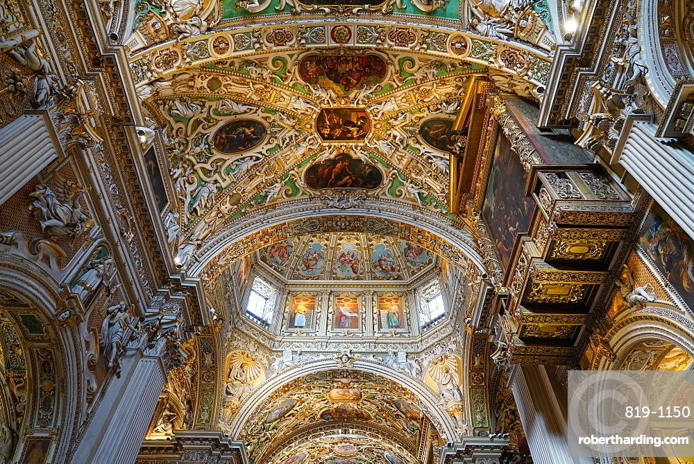 Santa Maria Maggiore Basilica, Bergamo, Lombardia, Italy, Europe