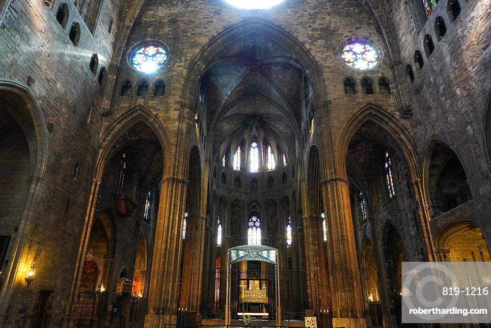 Cathedral of Saint Mary of Girona, Girona, Catalonia, Spain, Europe
