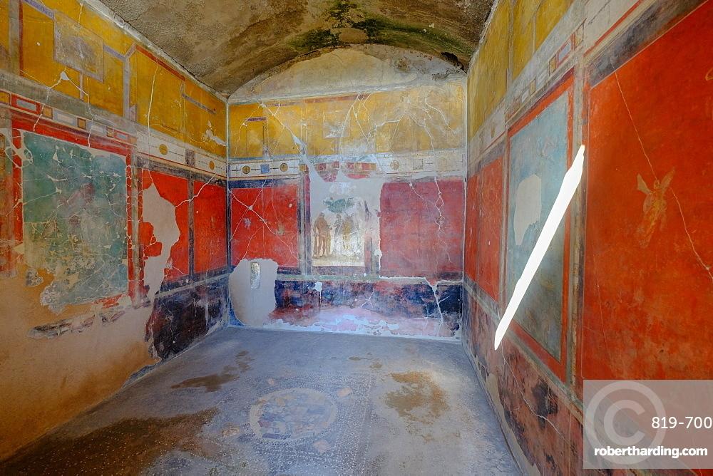 House of Sacerdos Amandus, Pompeii, UNESCO World Heritage Site, the ancient Roman town near Naples, Campania, Italy, Europe
