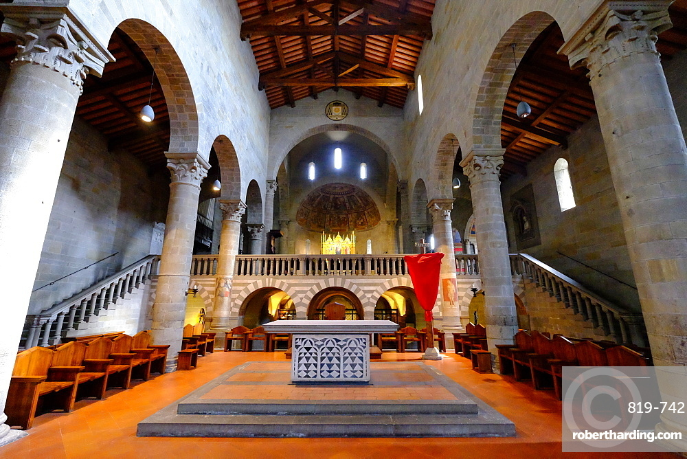 Fiesole Cathedral, Fiesole, Tuscany, Italy, Europe