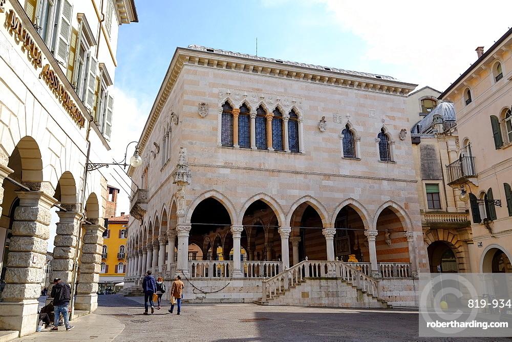 Loggia del Lionello, Udine, Friuli Venezia Giulia, Italy, Europe
