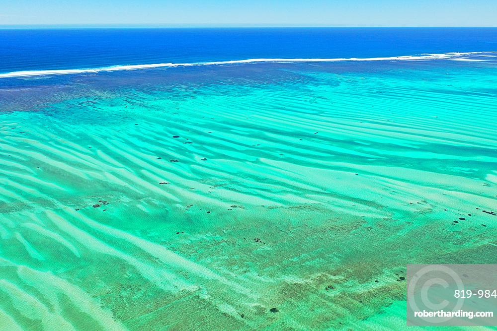 Coral reef near Salary, South Western coast of Madagascar, Indian Ocean, Africa