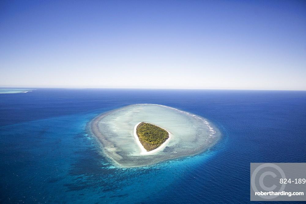 Mast Head Island, Great Barrier Reef, UNESCO World Heritage Site, Queensland, Australia, Pacific