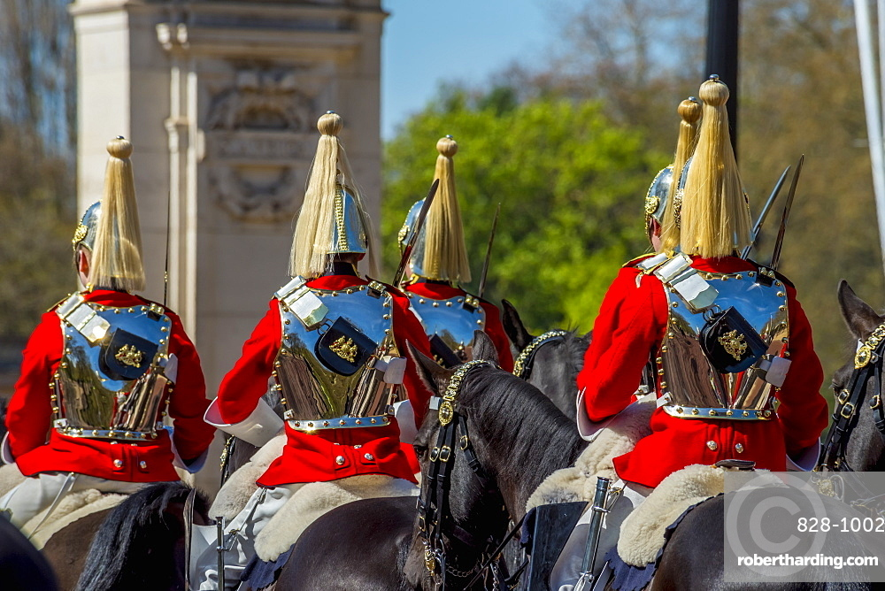 Changing of the Guard, The Mall, Buckingham Palace, London, England, United Kingdom, Europe