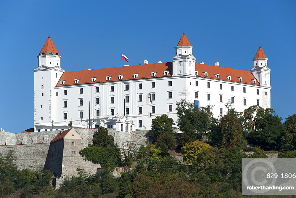 Bratislava Castle in Bratislava, Slovakia, Europe