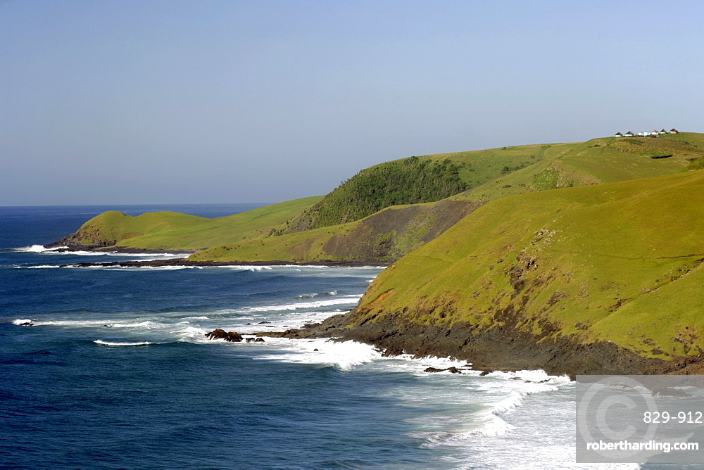 Coastline between Coffee Bay and Hole in the Wall in a region of South Africa's Eastern Cape Province formerly known as the Transkei.