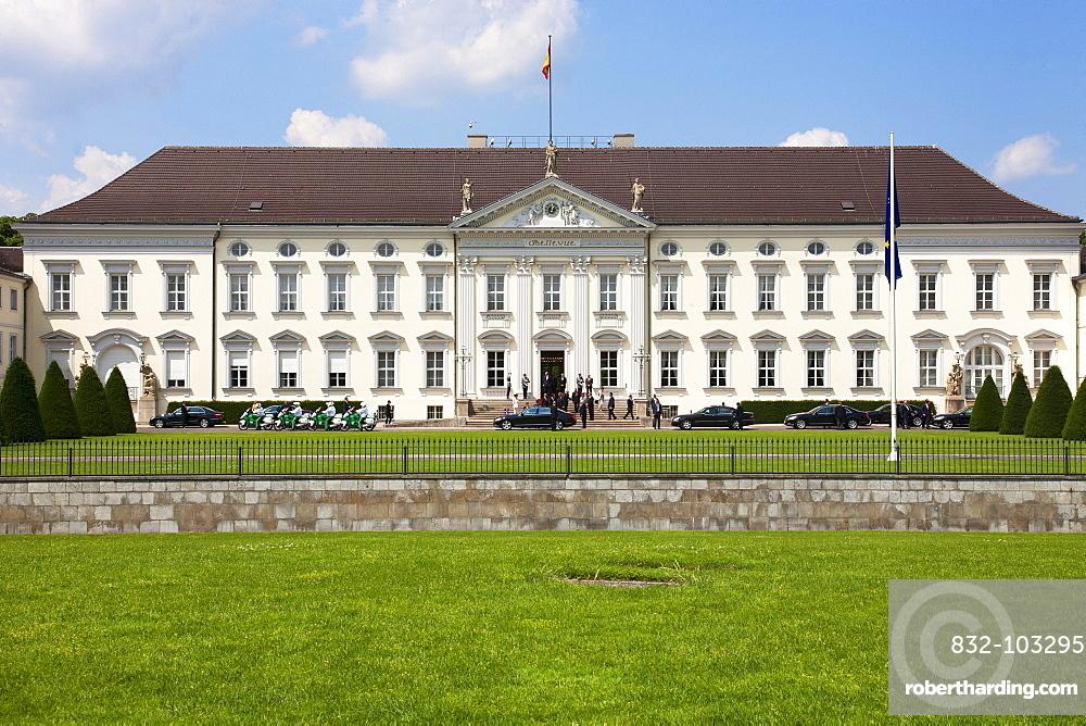 Schloss Bellevue, Bellevue Palace, Berlin, Germany, Europe