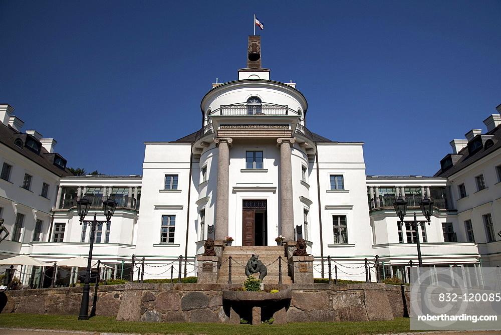 Burg Schlitz Castle Hotel, Mecklenburg Switzerland, Mecklenburg-Western Pomerania, Germany, Europe