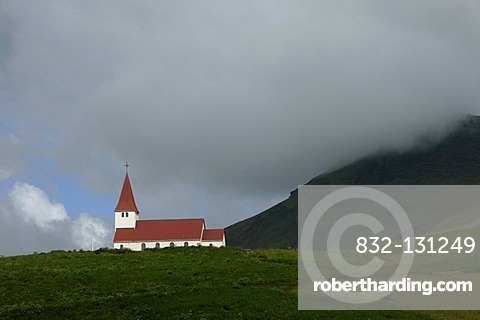 Church of Vik, Iceland, Europe