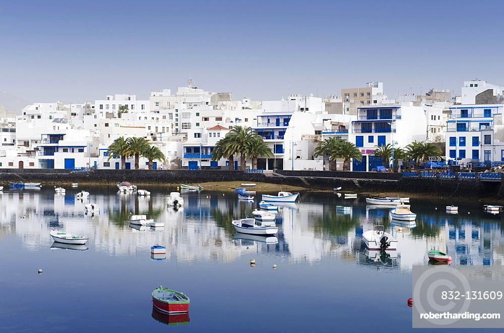 Port of Charco de San Gines, Arrecife, Lanzarote, Canary Islands, Spain, Europe