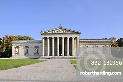 Glyptothek museum, Koenigsplatz square, Munich, Bavaria, Germany, Europe