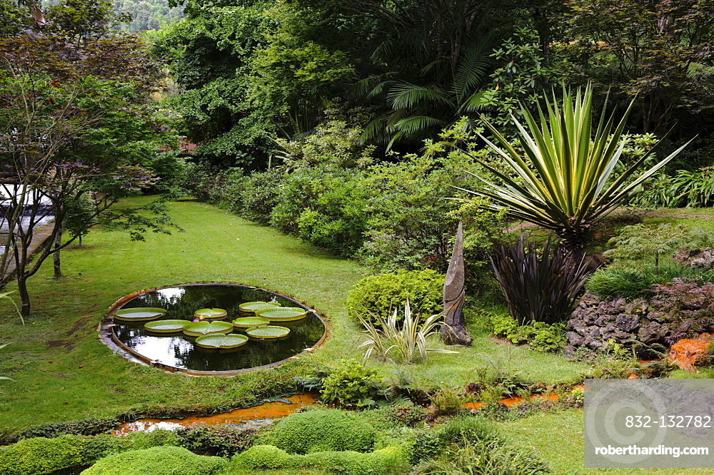 Park Terra Nostra in Furnas on the island of Sao Miguel, Azores, Portugal