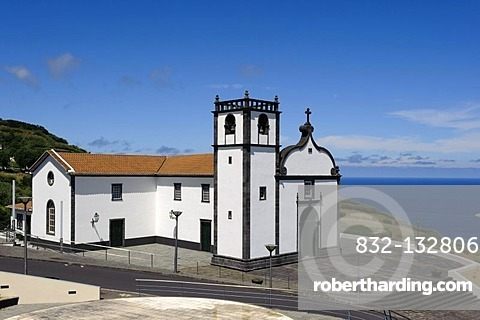 Church of Remedios, Nostra Senhora de Remedios, on the island of Sao Miguel, Azores, Portugal