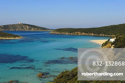 Costa del Sud near Porto Malfatono, Province of Cagliari, South Sardinia, Italy, Europe