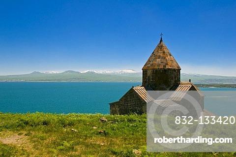 Sevanavank Monastery at Lake Sevan, Armenia, Middle East