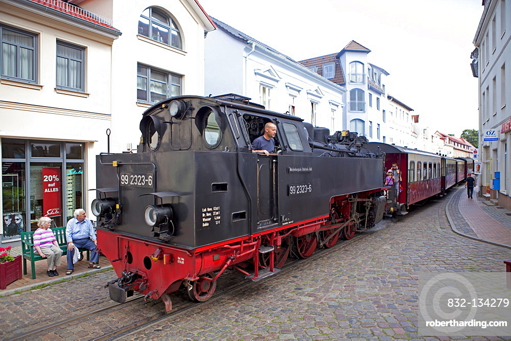 Narrow-gauge steam railway in the city centre, also known as