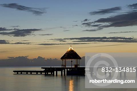 Kia Ora Resort, Rangiroa atoll, Tuamotu Archipelago, French Polynesia, Pacific Ocean
