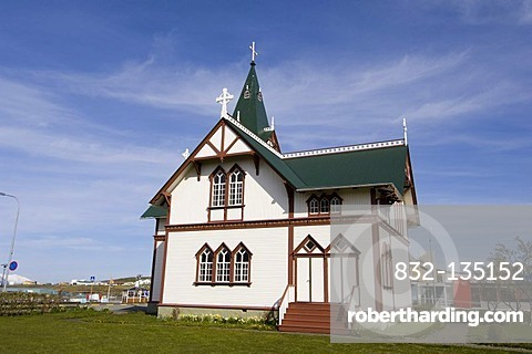 Husavik church, Iceland, Europe