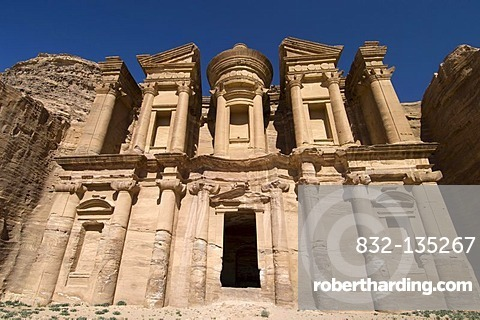 The Monastery, Al Deir, Petra, Jordan, Middle East
