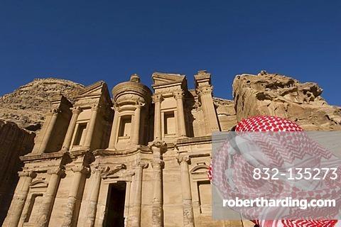 The Monastery, Al Deir, Petra, Jordan, Middle East