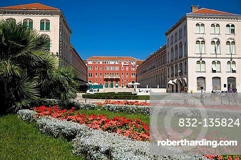 Hotel Bellevue in Split, Croatia, Europe