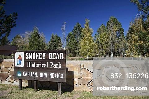 Smokey Bear Historical Park, Capital, New Mexico, USA