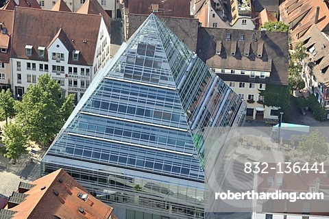 Central Library, City Library of Ulm, Baden-Wuerttemberg, Germany, Europe