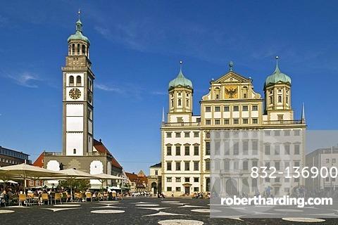 Town hall, Augsburg, Bavaria, Germany, Europe