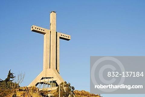 Walkable cross, Cruz Milenio, Coquimbo, La Serena, Norte Chico, northern Chile, Chile, South America