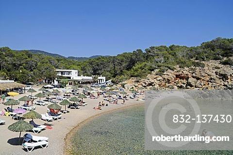 Cala Carbo, beach, Sant Josep de sa Talaia, San Jose, Ibiza, Pityuses, Balearic Island, Spain, Europe